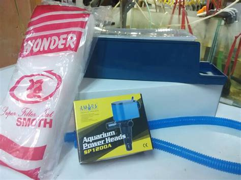 Selang Filter Aquarium jual paket lengkap filter aquarium power box
