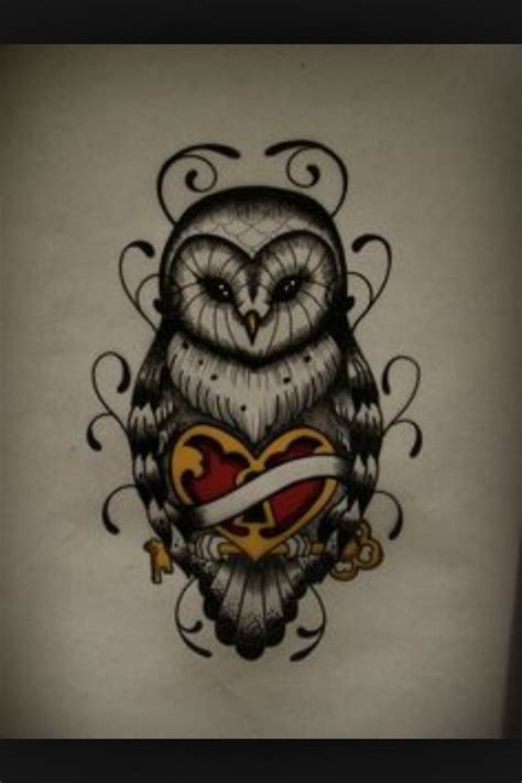 snowy owl tattoo snow owl tattoos