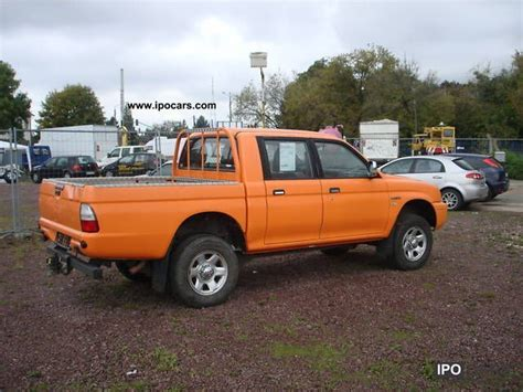 mitsubishi pickup 2005 2005 mitsubishi l200 pick up 4x4 double cab climate
