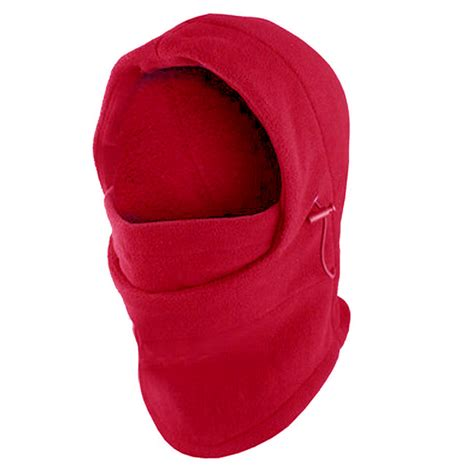 Balaclava Polar Masker Thermal 6 In 1 Multifungsi thermal fleece 6 in 1 mask balaclava hoodie neck