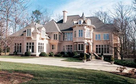 chateau style homes chateau house plans at home source
