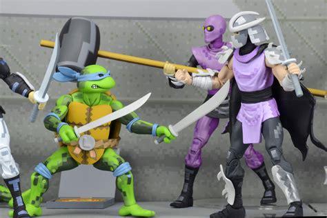 tmnt 2 figures neca reveals mutant turtles arcade