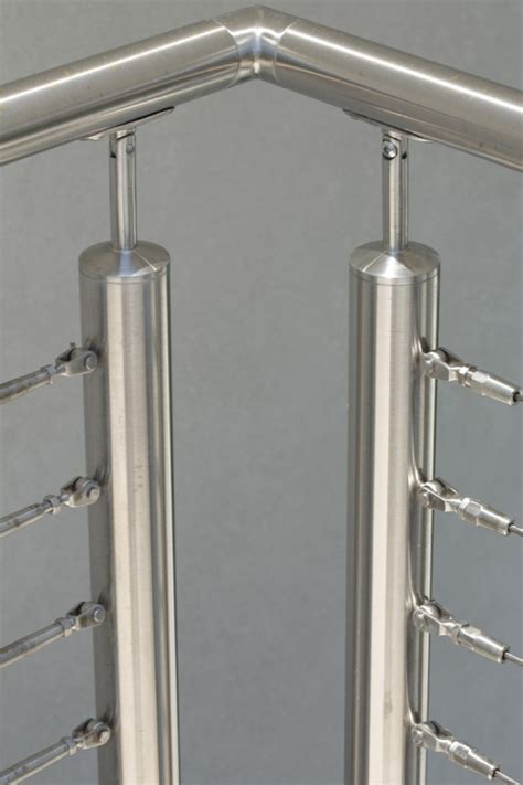 Stainless Steel Handrail Systems Stainless Steel Cable Railing System Internally Threaded