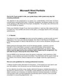 best photos of word portfolio templates powerpoint
