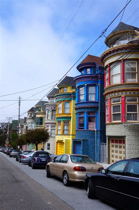 san francisco colorful houses fotofriday colorful houses in haight ashbury