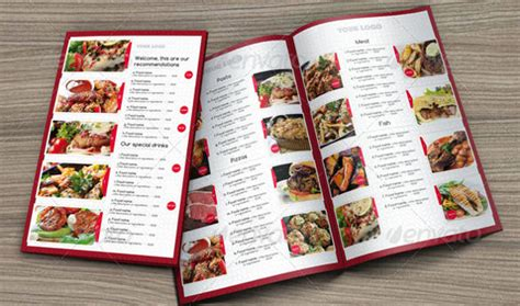 template for menu card design 40 menu design templates free sle exle format
