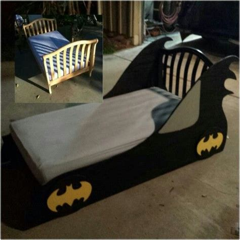 batman bedroom furniture diy batmobile toddler bed for batman themed room diy