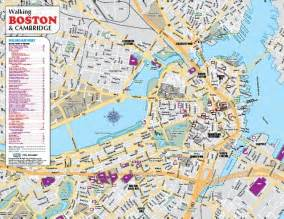 map boston usa order printed boston and cambridge walking driving