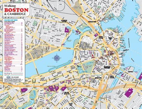 tourist map of boston usa maps update 21051488 boston tourist map boston