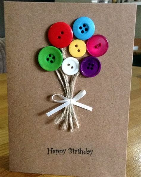 Handmade Cards With Buttons - 40 cool button craft projects for 2016 bored