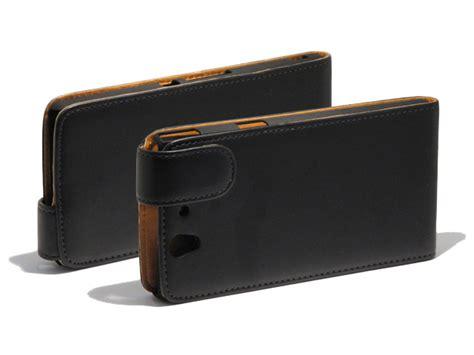 Leather Sony Xperia Z classic leather flip voor sony xperia z c6603