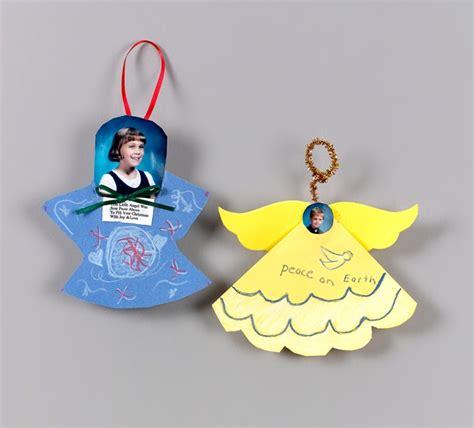 christmas angel ornaments craft crayola com