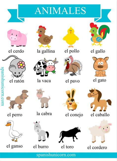imagenes de animales en ingles y español vocabulario de animales dom 233 sticos con actividades online