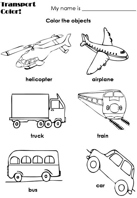 english themes for preschool means of transportation transports pinterest