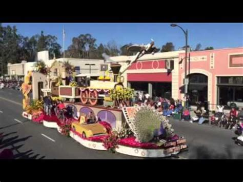 2016 rose bowl parade floats 2016 rose bowl parade city of glendale float tournament of