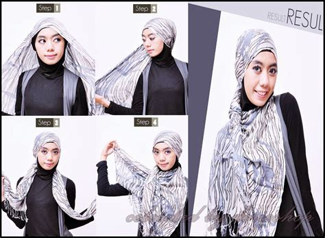 tutorial hijab pashmina paling mudah 18 hijab tutorial pashmina pemula 2018