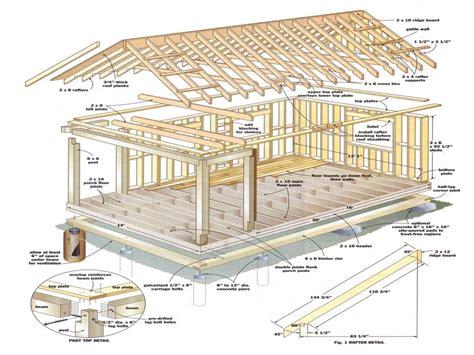 building plans for cabins 12x16 cabin with loft plans 12 x 16 cabin plans build