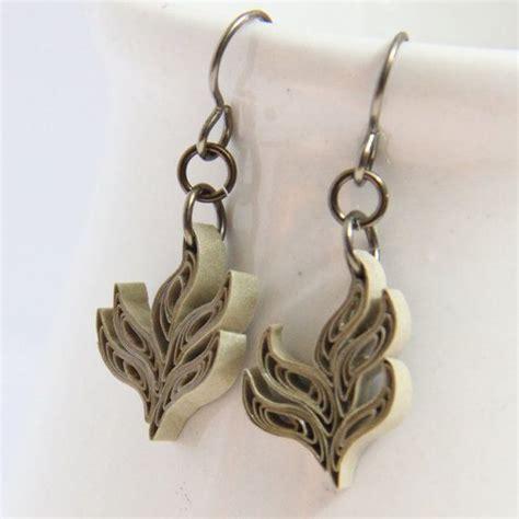 quilling earrings tutorial pdf 672 best quilling bijoux images on pinterest earrings