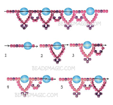 beaded superduo 2 hole bead valentines heart chain free pattern for beaded necklace silver moon beads magic