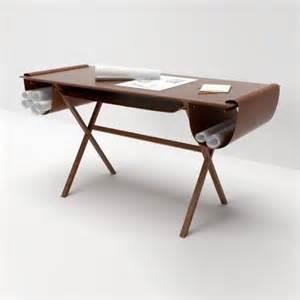 Architect Desks by Leather Pocketed Workstations Oscar Architecture Desk