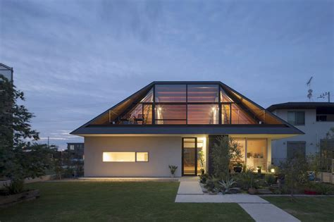 hipped glass roof house modern house designs