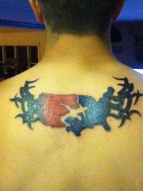 usa wrestling tattoo my usa symbol with tribals want