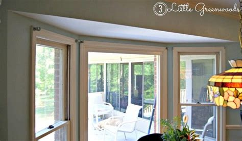 cheap curtains for bay windows 17 best ideas about window curtain rods on pinterest bay