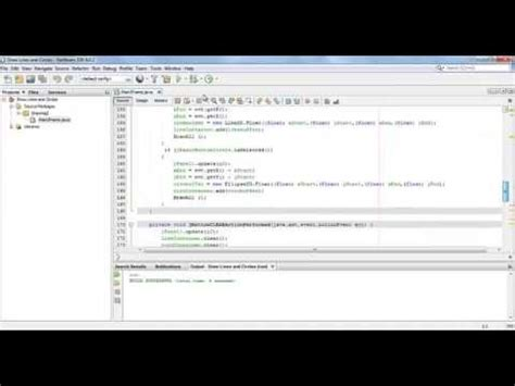 Drawing Shapes In Netbeans
