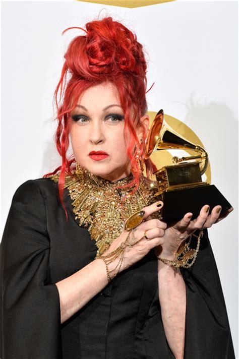 Grammy Awards Cyndi Lauper by Cyndi Lauper Photos Photos Press Room At The Grammy