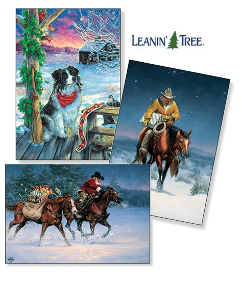 leanin tree christmas cards now at argyle feed hardware