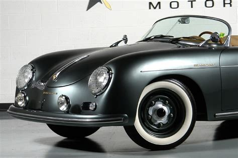 Porsche 356 Headlights 1957 Porsche Speedster Beck Recreation 6speedonline