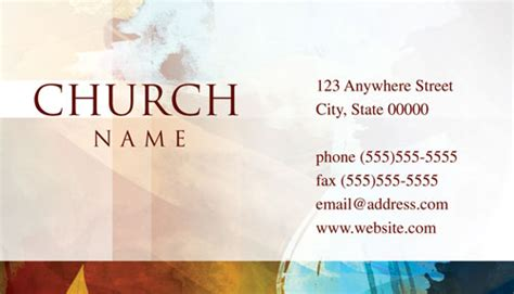 religious business cards templates free free printable christian business cards choice image