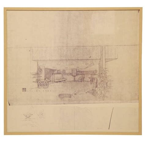frank lloyd wright prints frank lloyd wright blue line prints at 1stdibs