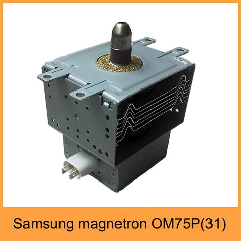 samsung parts samsung industrial air cooling magnetron 2450mhz om75p 31 magnetron for microwave parts buy