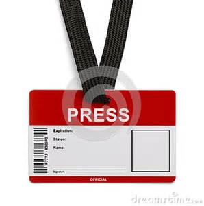 press card template press id card stock images image 31402234