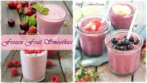 best fruit smoothie list of 25 best frozen fruit smoothies