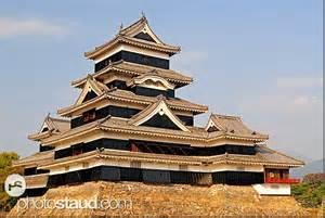 Ancient Japanese Architecture Design Matsumoto Castle Japan Matsumoto Japan Asia Photostaud