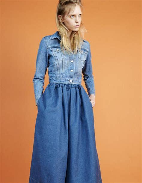 Crows Denim Blue Denim Style denim on denim continued fashions material