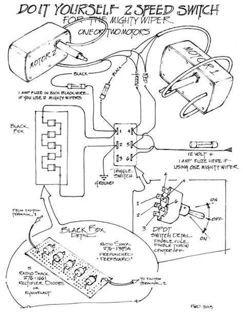 The Mighty Wiper – Wiring Diagram   RainGear Wiper Systems