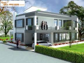 Duplex House Design Apnaghar House Design Home Design Site