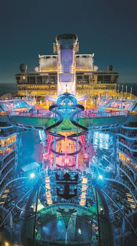 royal caribbean largest ship harmony of the seas every night comes alive aboard the
