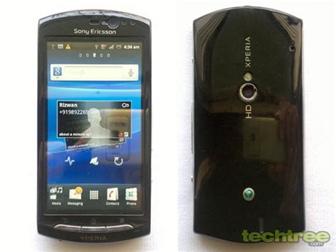 Handphone Sony Xperia Neo V review sony ericsson xperia neo v techtree
