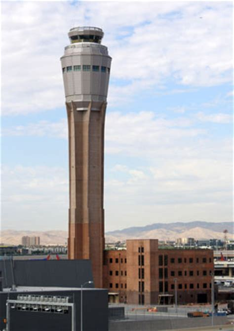 the new tower at mccarran las vegas air traffic tower delayed amid costly