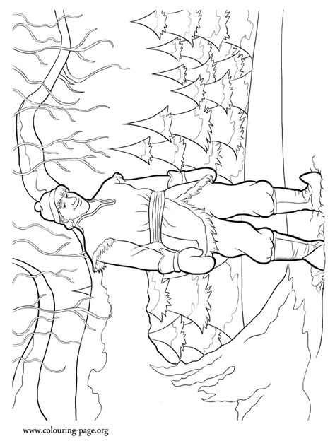 frozen coloring pages and kristoff family 30 free frozen colouring pages