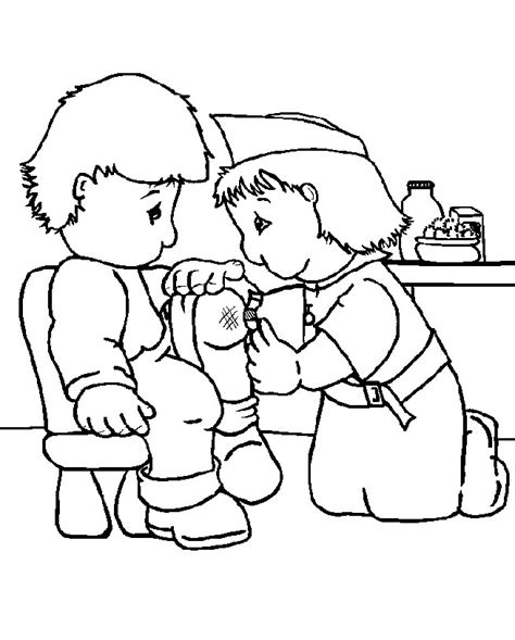 preschool coloring pages nurse free coloring pages of school nurse