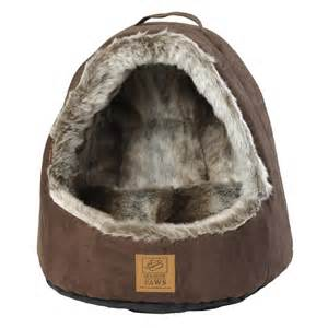 arctic fox hooded cat bed beds beds and crates