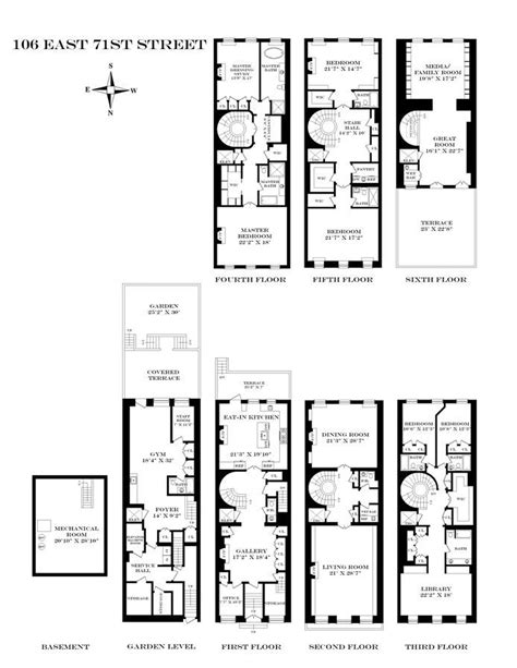 best townhouse floor plans 17 best images about townhouse floor plans on pinterest