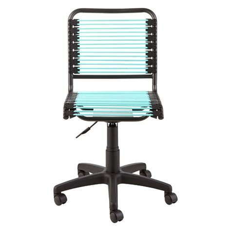 Bungee Chair Office - turquoise bungee office chair the container store