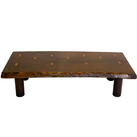 Live Edge Coffee Table With Butterfly Joint Detail For Edge Coffee Table