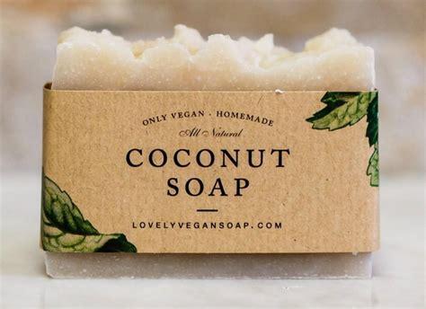 Handmade Coconut Soap - coconut soap coconut soap skin soap vegan soap